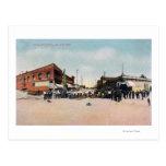 Gold Brick Laying SceneSnohomish, WA Postcards