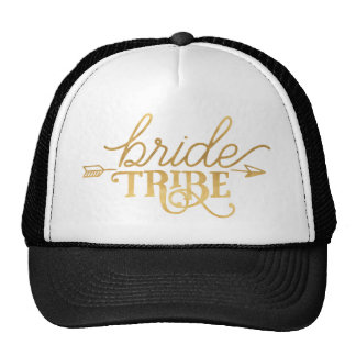 Gold Bride Tribe Trucker Hat