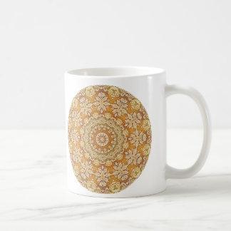 Gold Brocade 2 Coffee Mug