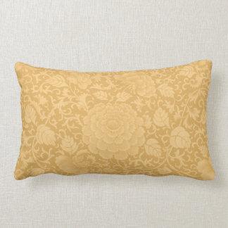 Gold Brocade Lumbar Pillow