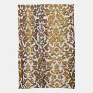 Gold Brocade Towel