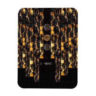 Gold Brown Cheetah Leopard Magnet