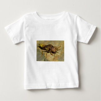 Gold & Brown Rove Beetle Baby T-Shirt