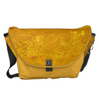 Gold Bubbles Courier Bag