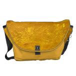 Gold Bubbles Messenger Bags