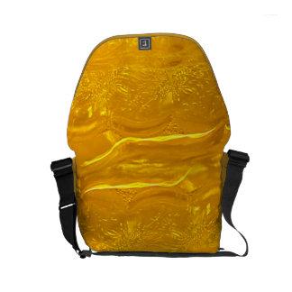 Gold Bubbles Small Messenger Bag