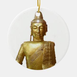 Gold Buddha Ceramic Ornament