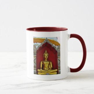 Gold Buddha Mug