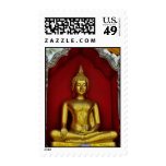 Gold Buddha Postage