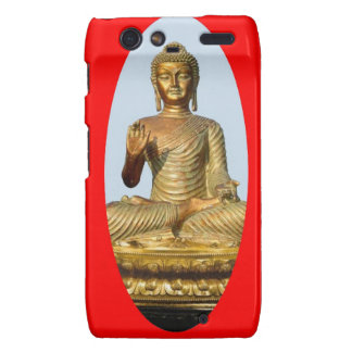 Gold Buddha & Sacred Red by SHARLES Droid RAZR Cover