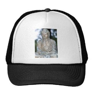 Gold Buddha Statue Mesh Hats