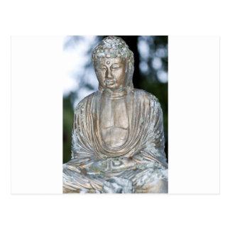 Gold Buddha Statue Postcard