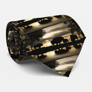 Gold Buffalo Tie
