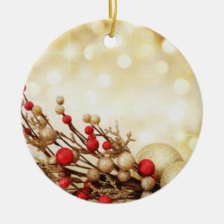 gold bulbs tree ornament