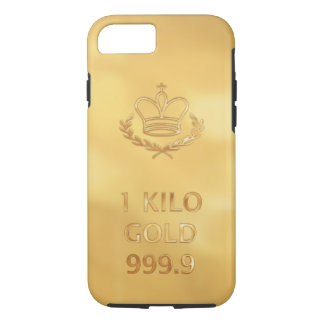 Gold Bullion Bar iPhone 8/7 Case