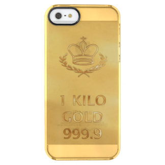 Gold Bullion Bar Uncommon Clearly™ Deflector iPhone 5 Case