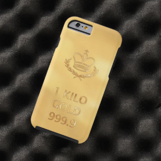 Gold Bullion Bar Tough iPhone 6 Case