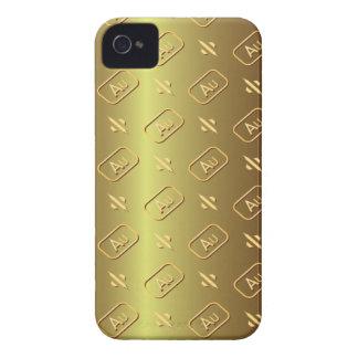 Gold Bullion Golden Style Blackberry Bold Case