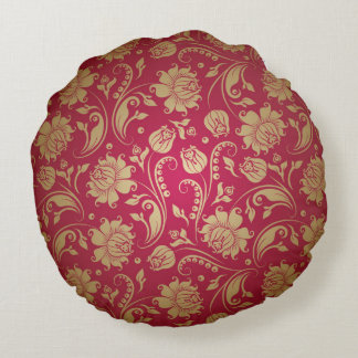 Gold And Burgundy Pillows - Decorative & Throw Pillows Zazzle