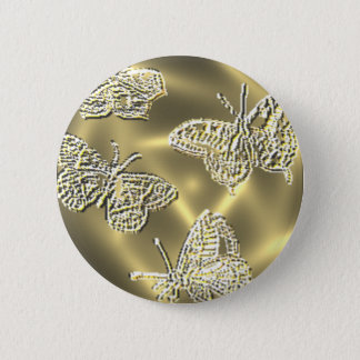 GOLD BUTTERFLIES BUTTON
