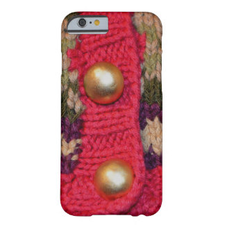 Gold Buttons Sweater Barely There iPhone 6 Case