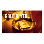 Gold Buyer Jewelry Silver Coins Business Card Templates