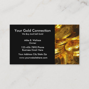 gold buying selling business cards - Buy Business Cards