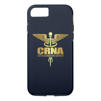 Gold Caduceus (CRNA) iPhone 7 Case