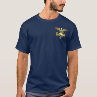 Gold Caduceus (CRNA) T-Shirt