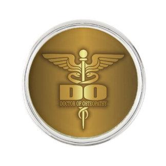 Gold Caduceus (DO) Lapel Pin