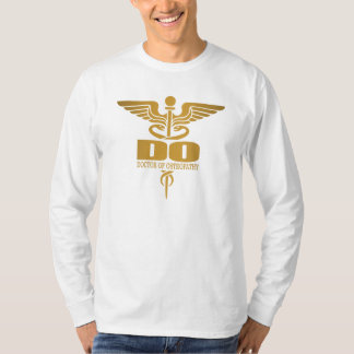 Gold Caduceus (DO) T-Shirt