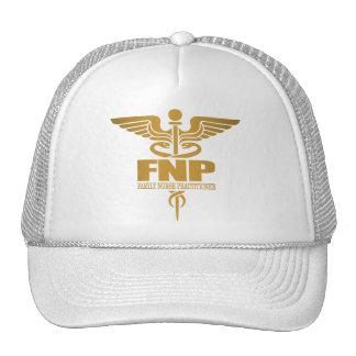 Gold Caduceus (FNP) Trucker Hat