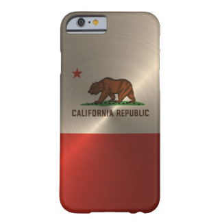 Gold California Republic Barely There iPhone 6 Case