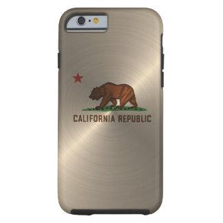 Gold California Republic Tough iPhone 6 Case