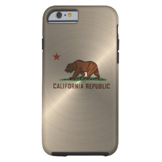 Gold California Republic Tough iPhone 6 Case