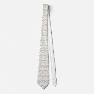 Gold Calla Lily Sketch Tie