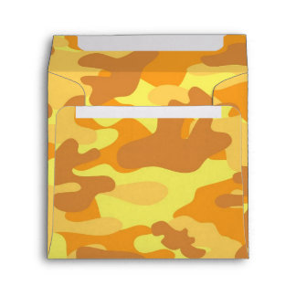 Gold Camouflage Envelopes