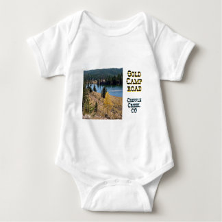 Gold Camp Road Baby Bodysuit