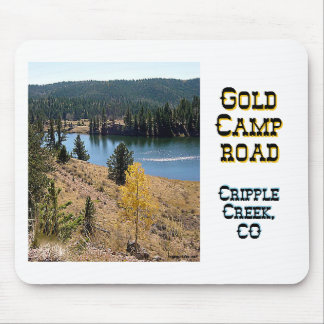 Gold Camp Road Mouse Pad
