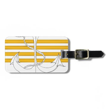 gold captain, tony fernandes bag tag