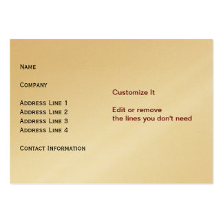 Gold Card Business Cards