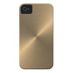 Gold Case-Mate iPhone 4 Case