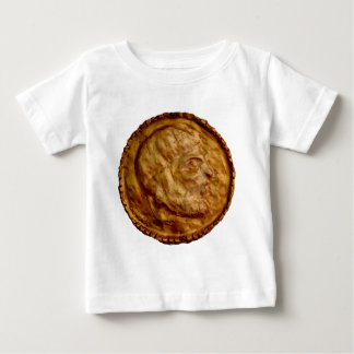 Gold Cast Coin - Ancient Look Baby T-Shirt