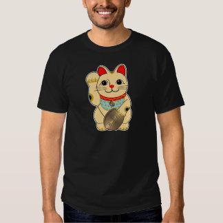 Gold Cat T Shirt