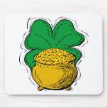gold cauldron mouse pads