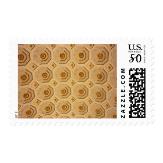 Gold Ceiling Pattern Postage