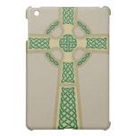 Gold Celtic Cross iPad Case