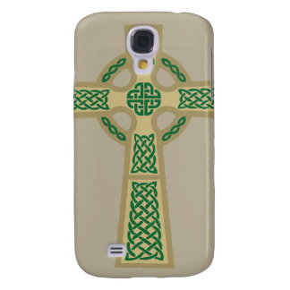 Gold Celtic Cross iPhone 3 Case