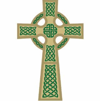 Gold Celtic Cross Photo Sculpture