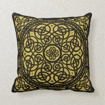 gold celtic design